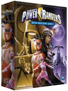 Power Rangers Deck-building Gamen kansi