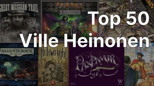 Top 50 Ville Heinonen