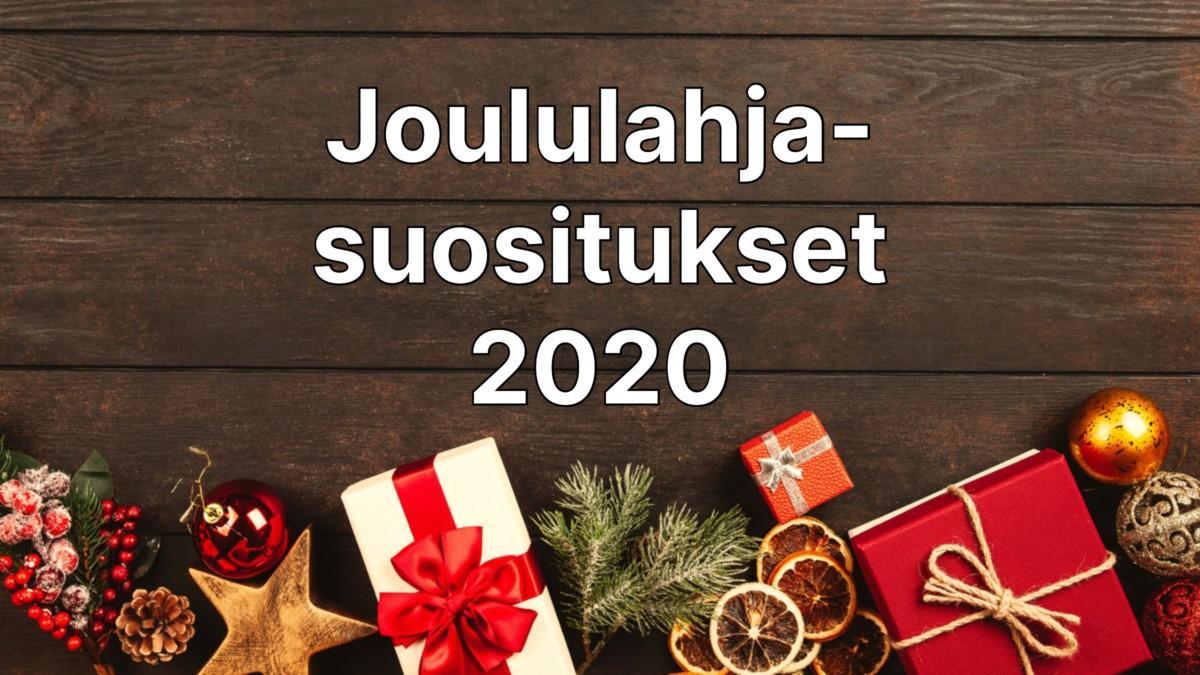 Joululahjasuositukset 2020