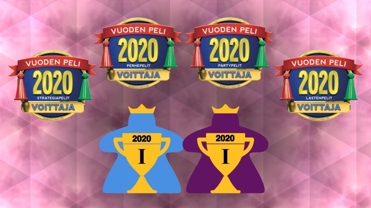 Vuoden peli ja Pelaajien valinta -palkinnot