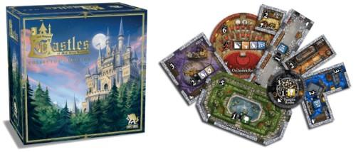 Castles of Mad King Ludwig Collector's Editionin kansi ja laattoja