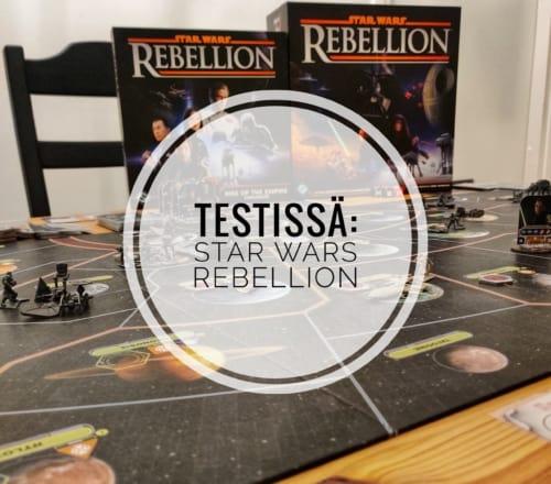 Testissä: Star Wars Rebellion
