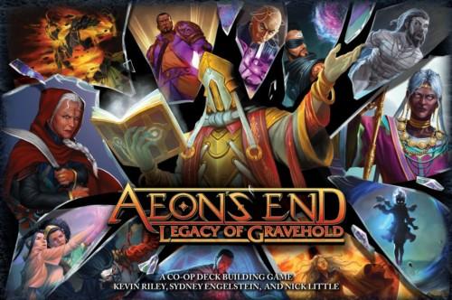 Aeon's End: Legacy of Graveholdin kansi