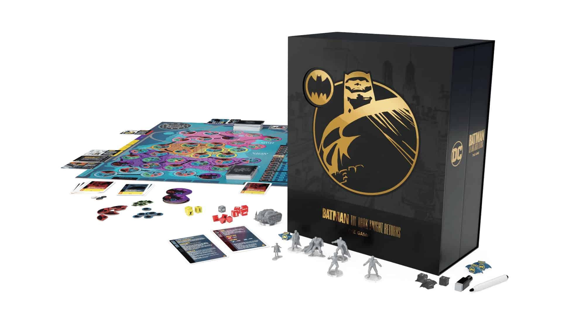 Batman: The Dark Knight Returnsin kansi ja sisältöä