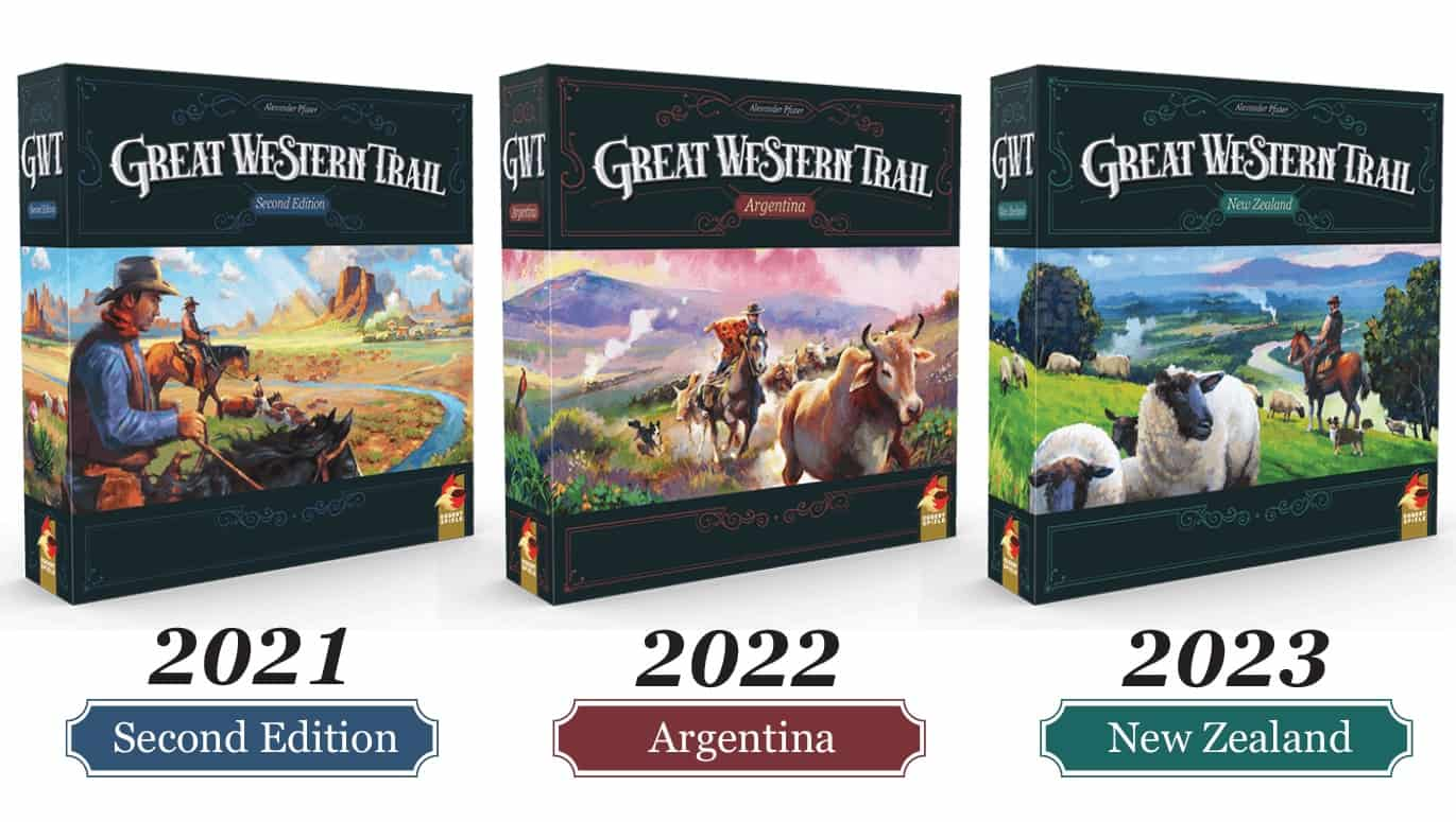 Great Western Trail -trilogian kannet