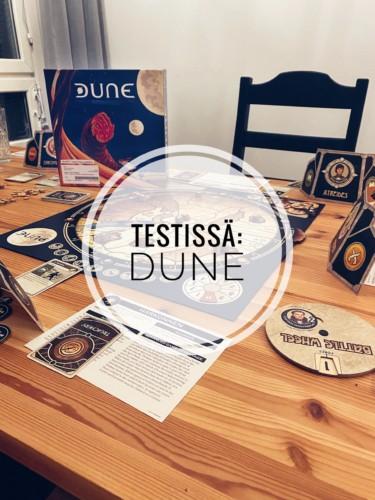 Testissä: Dune