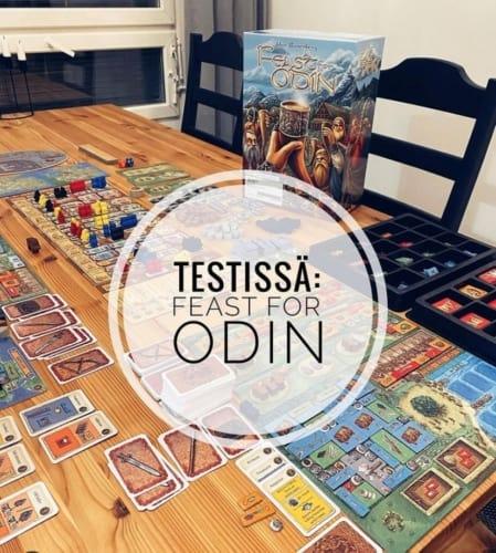 Testissä: A Feast for Odin