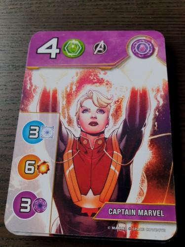 Captain Marvel -kortti