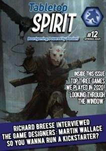 Tabletop Spirit #12:n kansi