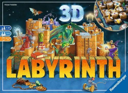 3D Labyrinthin kansi