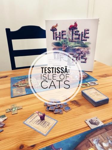 Testissä: Isle of Cats