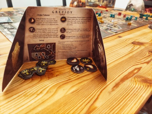A Game of Thrones –The Board Gamen näkösuoja