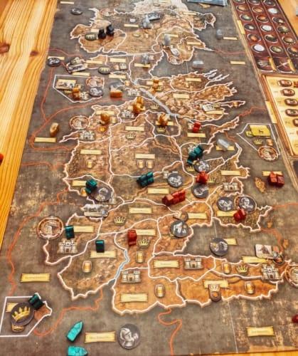 A Game of Thrones –The Board Gamen pelilauta