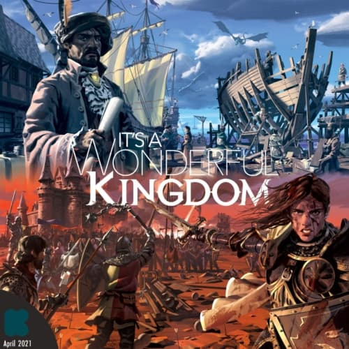 It's a Wonderful Kingdomin kansi