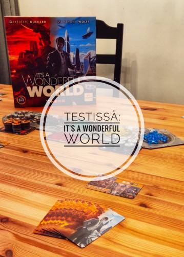 Testissä: It's a Wonderful World
