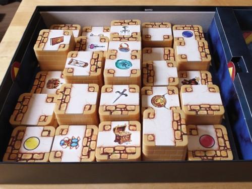3D Labyrinth laatikossaan