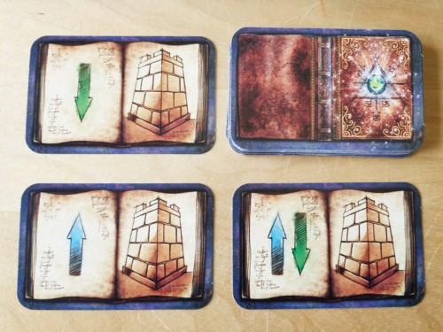 3D Labyrinthin  kortteja