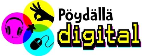 Pöydällä Digital -logo