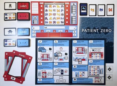 Save Patient Zeron komponentit