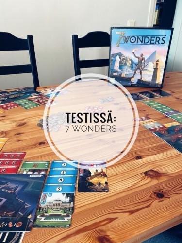Testissä: 7 Wonders