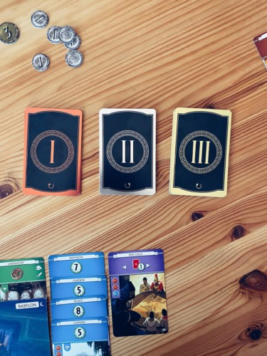 7 Wondersin kortteja