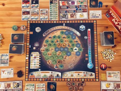 Terraforming Marsin pelilauta