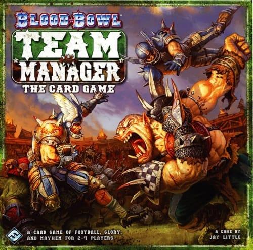 Blood Bowl: Team Manager – The Card Gamen kansi