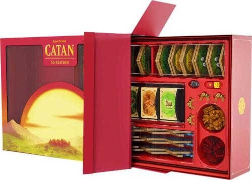 Catan 3D Edition -pelin laatikko