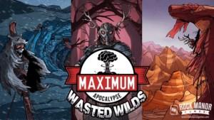 Maximum Apocalypse: Wasted Wildsin kansi