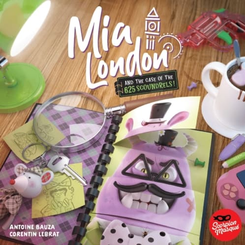 Mia London and the Case of the 625 Scoundrelsin kansi
