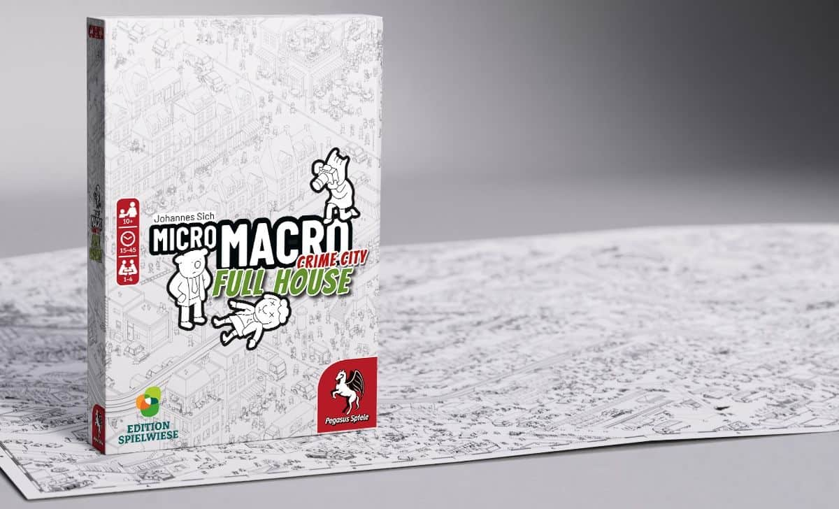 MicroMacro: Crime City – Full Housen kansi