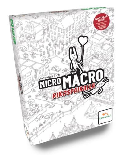 MicroMacro Rikospaikalla -kansikuva