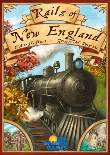 Rails of New Englandin kansi