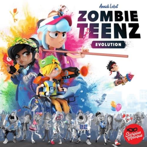 Zombie Teenz Evolutionin kansi