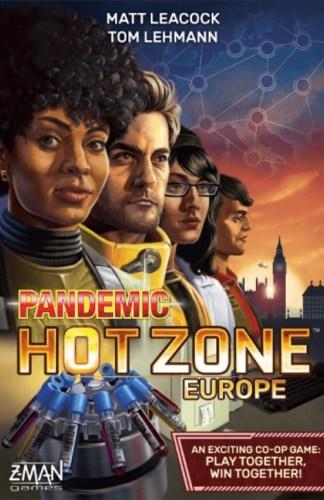 Pandemic: Hot Zone –Europen kansi