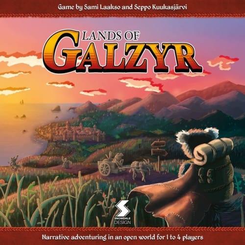 Lands of Galzyrin kansi