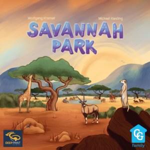 Savannah Parkin kansi
