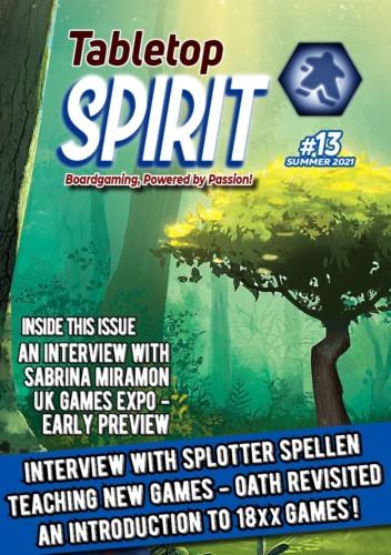 Tabletop Spirit 13:n kansi