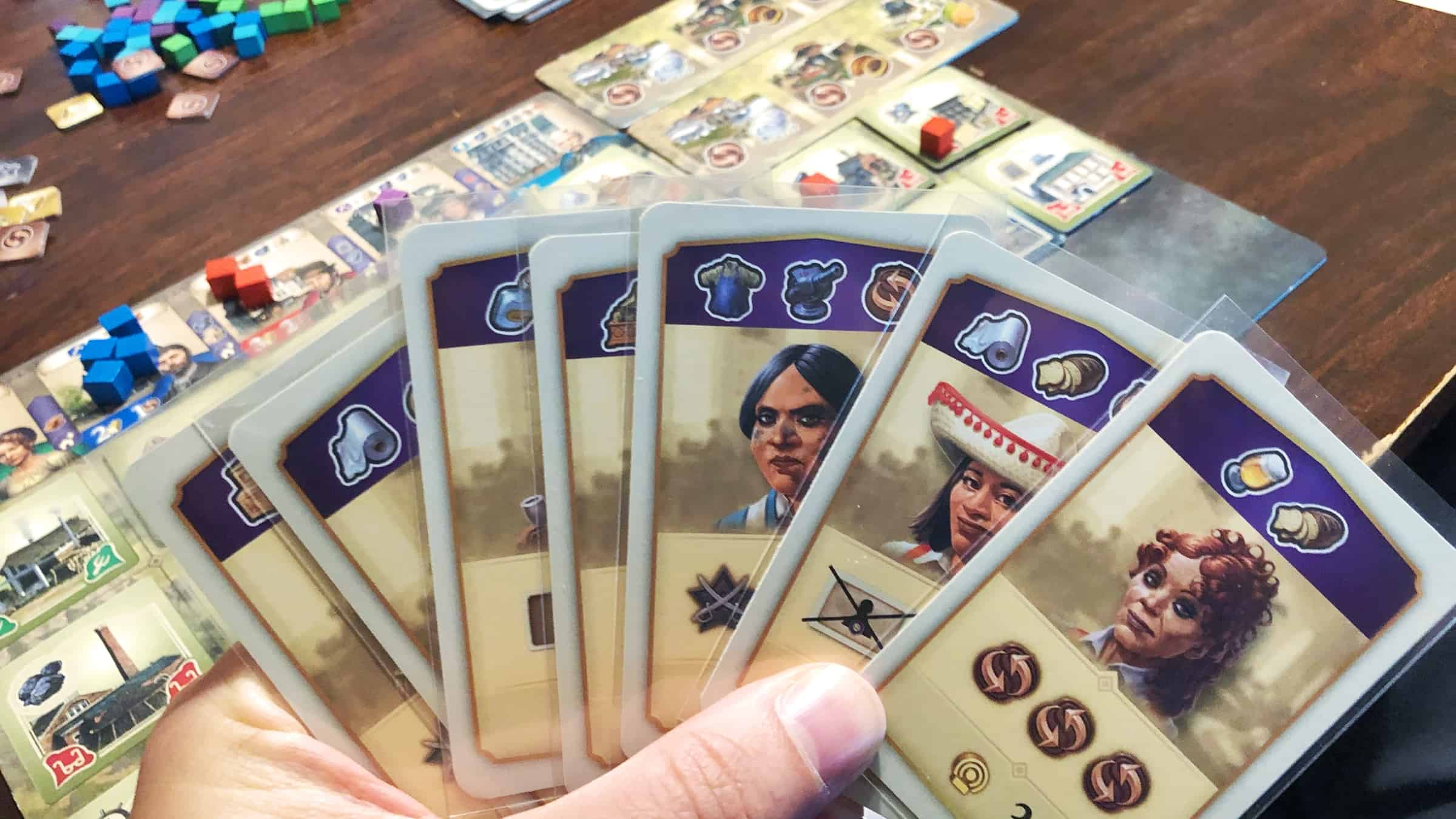 Anno 1800 -pelin korttikäsi
