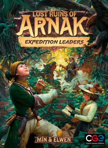 Lost Ruins of Arnak: Expedition Leadersin kansi