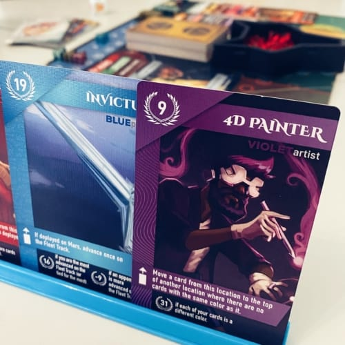 Lähikuvassa 4D Painter -kortti