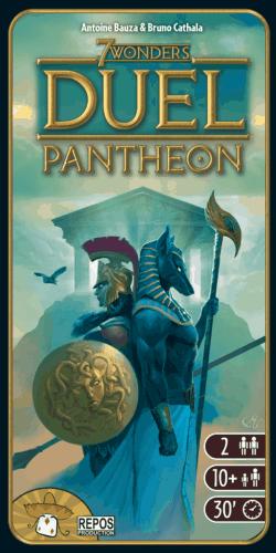 7 Wonders: Duel – Pantheonin kansi