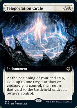 Teleportation Circle -kortti Magicista