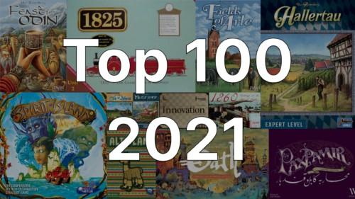 Top 100 vuonna 2021