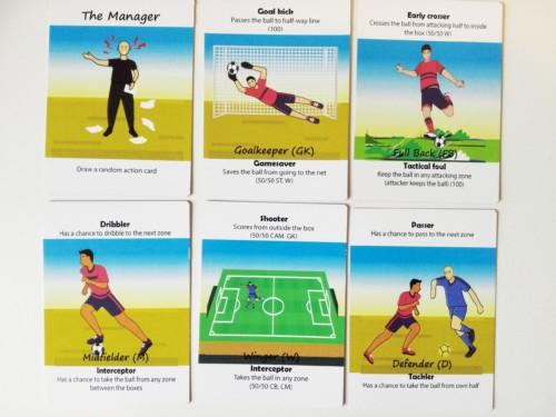 Cardballin valmentajakortteja