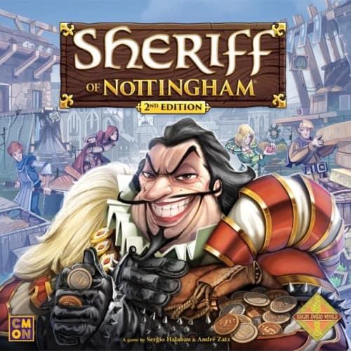 Sheriff of Nottinghamin kansi