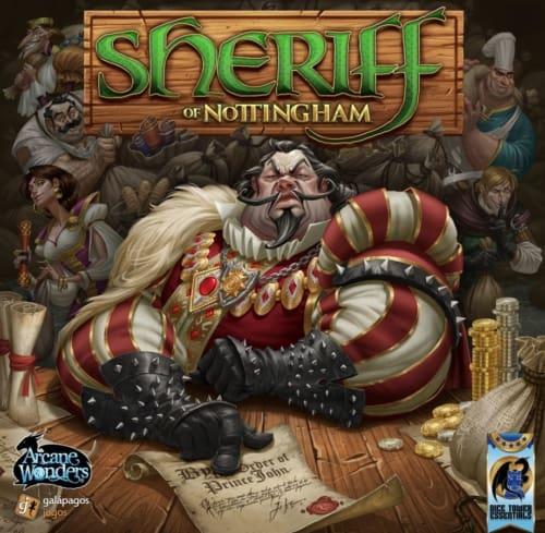Sheriff of Nottinghamin (Arcana Wonders) kansi