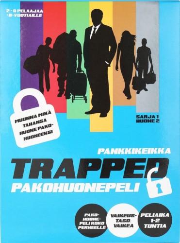 Trapped Pankkikeikan kansi