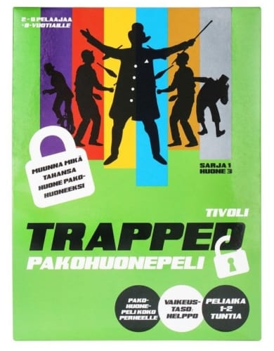 Trapped: Tivoli -pelin kansi