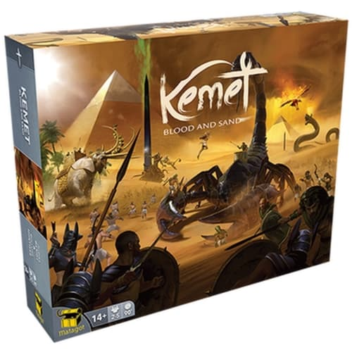 Kemet: Blood and Sandin kansi